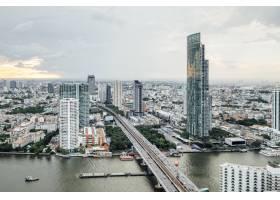 泰国曼谷的城市景观和建筑_4690151