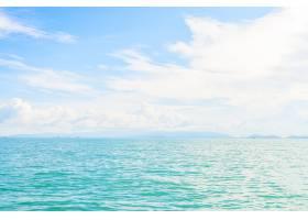 泰国美丽的热带岛屿和大海_3576406