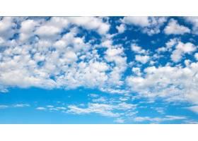 布满云彩的蓝天_903478