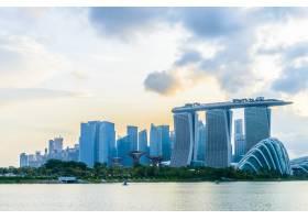 新加坡观海滨城市建筑_1090348