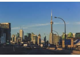 多伦多城市的高速公路景观_1161357