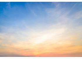 大自然多姿多彩的山水黄昏云_1088375