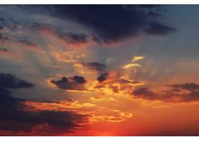 天空中的太阳黎明_1127252