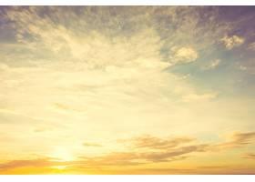 天空中的日落_3962987