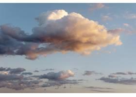 天空中美丽的天然云彩_12087307