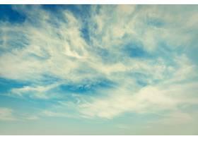 天空背景上的白云_3982208