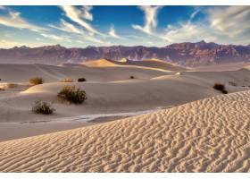 加州死亡谷梅斯奎特平坦沙丘的美丽风景_11207064