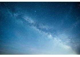 充满活力的夜空有星星星云和星系_10181122