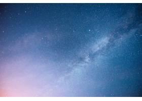 充满活力的夜空有星星星云和星系_10181127