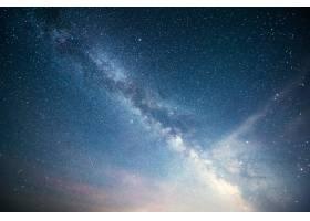 充满活力的夜空有星星星云和星系_10181152