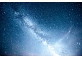 充满活力的夜空有星星星云和星系_10181155
