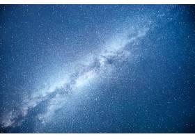 充满活力的夜空有星星星云和星系_10181196