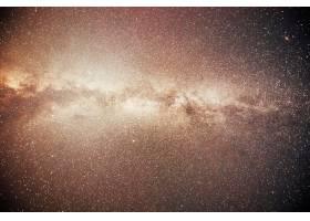充满活力的夜空有星星星云和星系_10181200