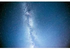 充满活力的夜空有星星星云和星系_10181202