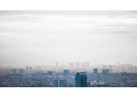 伊斯坦布尔的景色多云的天气多个低矮的和_11706215