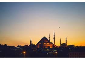 伊斯坦布尔的蓝色清真寺_1618641