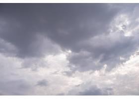 令人惊叹的美丽的云彩天空_10472871