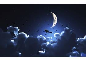 万圣节之夜的女巫_951023
