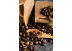 高角度咖啡豆肥皂_5524211