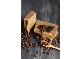 高角度咖啡豆肥皂_5524213