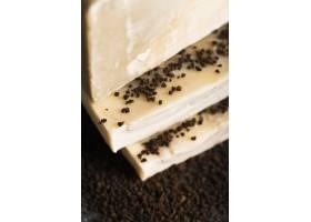 特写肥皂和咖啡粉_5524183