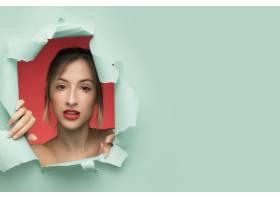 一种带复印空间的美女肖像画_5263775