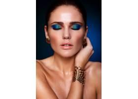 高级时尚造型美丽性感的高加索年轻女性模_6530260