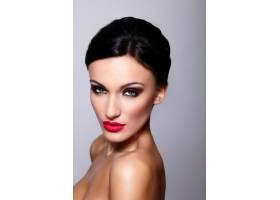 高级时尚造型美丽性感的高加索年轻女性模_7247978