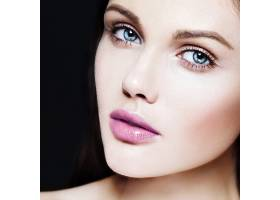 高级时尚造型迷人的特写美人肖像美丽的高_7200532