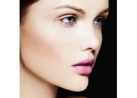 高级时尚造型迷人的特写美人肖像美丽的高_7200960