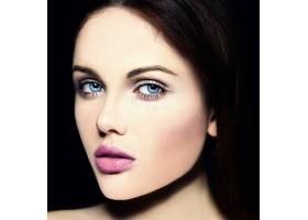 高级时尚造型迷人的特写美人肖像美丽的高_7200977