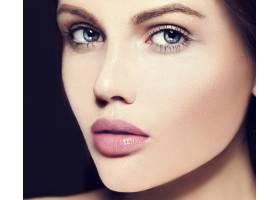 高级时尚造型迷人的特写美人肖像美丽的高_7200982