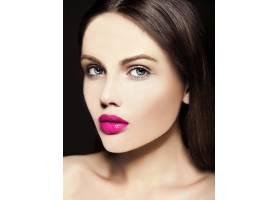 高级时尚造型迷人的特写美人肖像美丽的高_7200984
