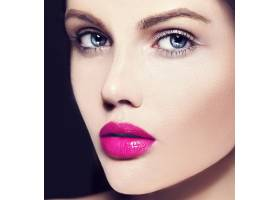 高级时尚造型迷人的特写美人肖像美丽的高_7200985