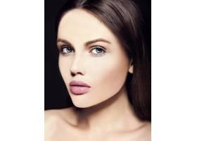 高级时尚造型迷人的特写美人肖像美丽的高_7200986