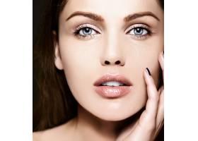 高级时尚造型迷人的特写美女肖像美丽的_7200470