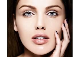 高级时尚造型迷人的特写美女肖像美丽的_7200471