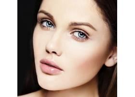 高级时尚造型迷人的特写美女肖像美丽的_7200527