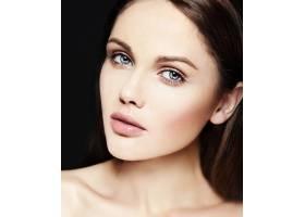 高级时尚造型迷人的特写美女肖像美丽的_7200535