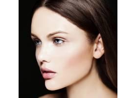 高级时尚造型迷人的特写美女肖像美丽的_7200957