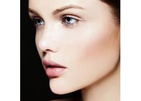 高级时尚造型迷人的特写美女肖像美丽的_7200958