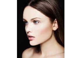 高级时尚造型迷人的特写美女肖像美丽的_7200961