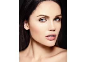 高级时尚造型迷人的特写美女肖像美丽的_7201030