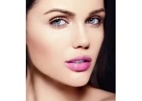 高级时尚造型迷人的特写美女肖像美丽的_7201034