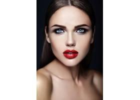 美女模特的感官魅力写真清新的日常妆容_6766701
