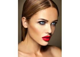 美女模特的感官魅力写真清新的日常妆容_6882636