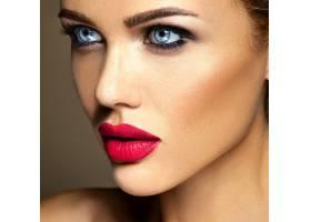 美女模特的感官魅力写真清新的日常妆容_6882637