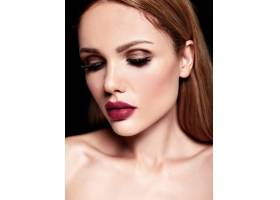 美丽的金发美女模特的性感魅力肖像清新的_7252784