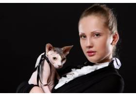 时尚与现代年轻女性_6449073