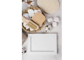 带石头和肥皂的顶级温泉浴场配件_6984277